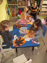 Free play at Ashworth Avenue Preschool